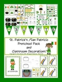 St. Patrick's /San Patricio Preschool Pack {Spanish Version}