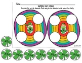 St. Patrick's Shamrock Fact Families- Addition/Subtraction