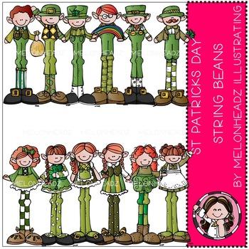 St Patricks String Beans bundle by Melonheadz
