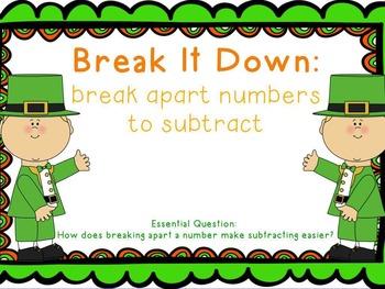 St. Patrick's Subtraction Strategies