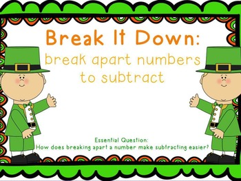 St. Patrick's Subtraction Strategies