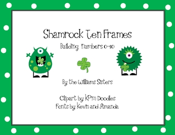 St. Patrick's Ten Frames Working with Numbers 0-10