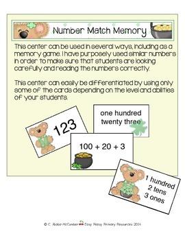 St. Patrick's Themed Math & ELA Centers