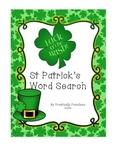 St Patrick's Word Search FREEBIE