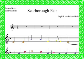 Boomwhackers PACK.St Patricks day: four songs to play with Boomwhackers