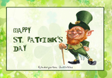 St. Patrick's day Kindergarten pack activities