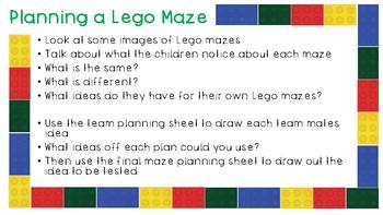St Patricks day Leprechaun Maze STEM Team project