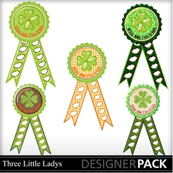 St Patricks day Ribbon