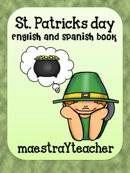 St Patricks day bilingual book