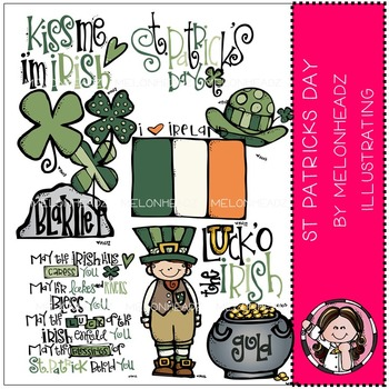 St Patricks day by Melonheadz COMBO PACK