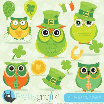 St-Patrick's day clipart commercial use, vector graphics, digital - CL638
