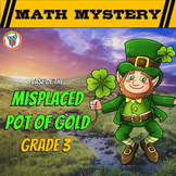 3rd Grade St. Patrick's Day Math Activity -  St. Patrick's Day Math Mystery