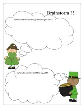 St Patrick's day Writing- persuasive prompt Common Core