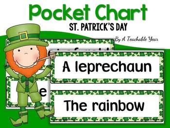 St. Patrick's Day Pocket Chart