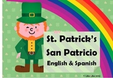 St Patrick's fast finishers San Patricio english and spanish