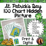 St. Patrick's Day Hundred Chart Hidden Picture