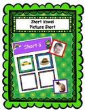 St. Patricks short vowel picture sort