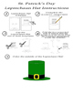 St. Patrick's Day Reading Comprehension - Informational Text - Assessment