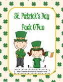 St. Pat's Day Activities Common Core Aligned