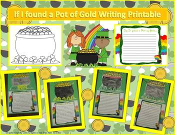 St. Pat's Day Writing Freebie