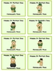 St Pat's Passes - Reward Cards for your Kiddos