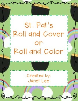 St. Pat's Roll and Cover (or Color)