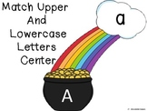 St. Pat's abc letter matching center