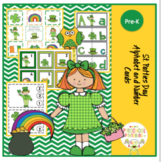 St. Patties Day Alphabet and Number Cards