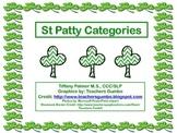 St Patty Categories
