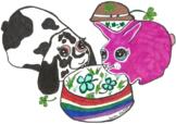 St. Patty Day Bunny Clip Art