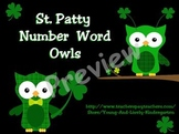St. Patty Numbers & Number Words 1-20