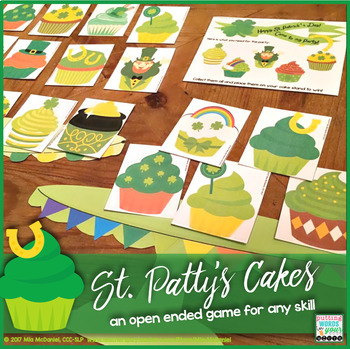 St. Patty's Cakes {an open ended game for any skill}