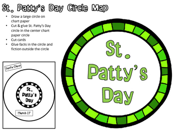 St. Patty's Day Circle Map Activities