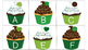 St. Patty's Day Cupcakes! {{An Uppercase/Lowercase Matching Game}}