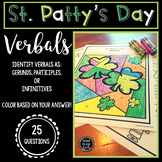 St. Patrick's Day ELA Activity - Verbals