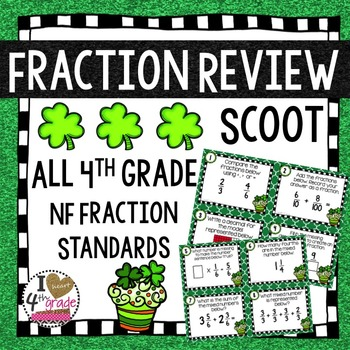 St. Patty's Day Fraction Scoot