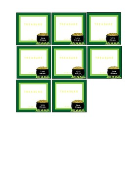 St. Patty's Day Gift Tags