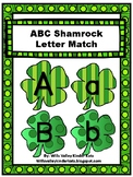 St. Patty's Day Letter Match (March/St. Patrick's Day/Shamrocks)