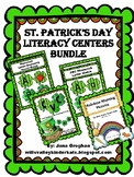 St. Patty's Day Literacy Centers BUNDLE