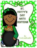 St. Patty's Day Math Centers