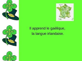 St. Patty's Day Powerpoint - French 2