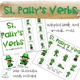 St. Patty's Day Verbs Adapted Book // Speech Therapy // Grammar