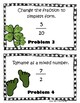 St. Patty's Fraction Scoot- Mixed Number & Simplest Form- 4th & 5th Grade
