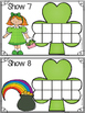 St. Patty's Fun Ten Frames Puzzles & Playdoh Math Centers