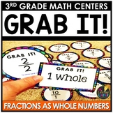 St. Patrick's Day Math Game - Fractions as Whole Numbers