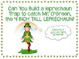 St. Patty's STEM - Leprechaun Trap - Simple Machines, Measurement