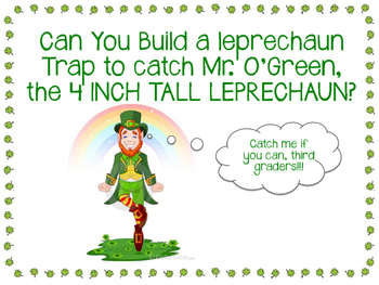 St. Patty's STEM - Leprechaun Trap - Simple Machines, Measurement