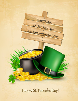St. Patty's Research Template for World Langauges