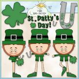 St. Patty's Day Clip Art - St. Patrick's Day Clip Art - CU Clip Art & B&W