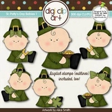 St. Patty's Day Babies 1-  Digi Clip Art/Digital Stamps - CU Clip Art